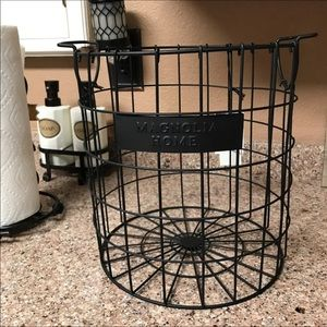 New Magnolia Home Wire Basket